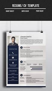 Corporate One Page Cv  Resume Template