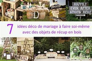Meuble A Faire Soi Meme Recup : 7 id es de recyclage de meubles ou objets en bois pour ~ Zukunftsfamilie.com Idées de Décoration