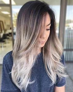 Balayage Ombré Blond : 20 natural looking brunette balayage styles bayalage ~ Carolinahurricanesstore.com Idées de Décoration