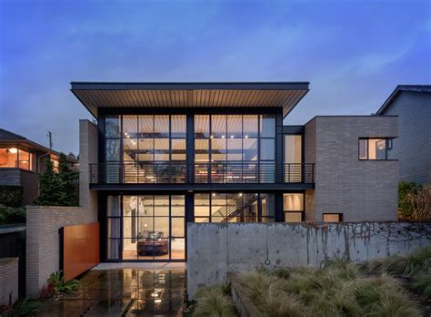 Contemporary Industrial House Features An Expressive