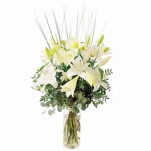 Bouquet De Fleurs Interflora : bouquet lys bouquet chic blanc interflora ~ Melissatoandfro.com Idées de Décoration