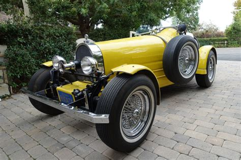 There are lots of other varieties of kit cars and element. 1927 Bugatti Type 35 Replica for sale