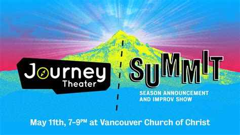 Musical theatre summer courses for young children, teenagers & adults. Summit 2019 - Journey Theater