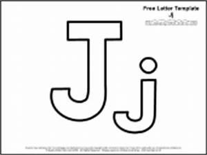 educational printables alphabet templates With letter j template preschool