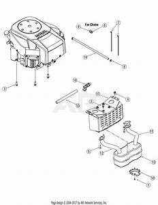 Mtd 13ap625k730  2007  Parts Diagram For Engine Accessories