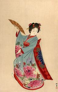 406 best images about Textile in painting 6/6 : japanese ...