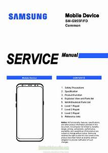 Samsung Galaxy S8 Plus Service Manual  U2013 Sm