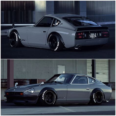Datsun 240z S30 Fairlady Z Lowered Stance Jdm