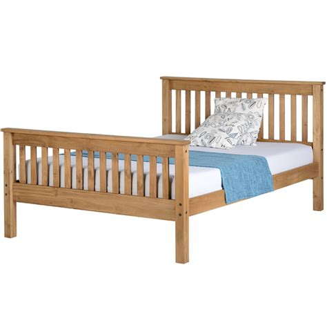 cortland wood bed frame luxury leather beds bedscouk