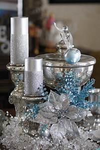 35, Silver, And, Blue, D, U00e9cor, Ideas, For, Christmas, And, New, Year