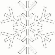 snowflake stencils  pinterest snowflake template