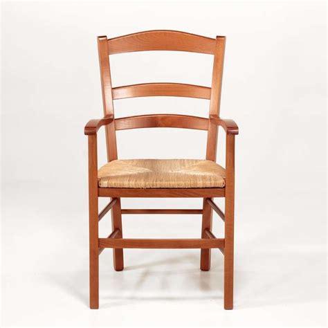 chaise en bois et paille fauteuil en bois rustique et paille brocéliande 4