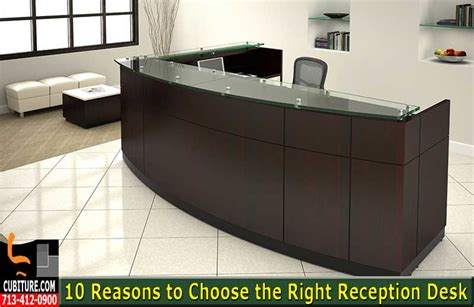 10 reasons to choose the right reception desk