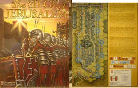 siege program avalon hill siege of jerusalem 1976 free books