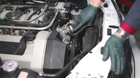 mercedes m119 v8 engine inspection part 2 hoses and belt