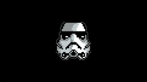 Pixel Art Pixels Star Wars Stormtrooper 1080p