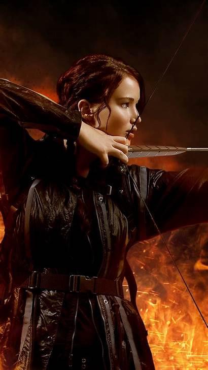 Fire Catching Katniss Wallpapers Everdeen Galaxy Entertainment