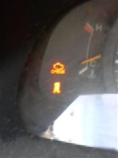 Toyota Camry Warning Lights by Warning Lights Toyota Camry 1999