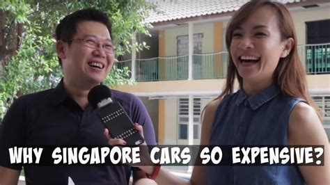 Why Singapore Cars So Expensive?