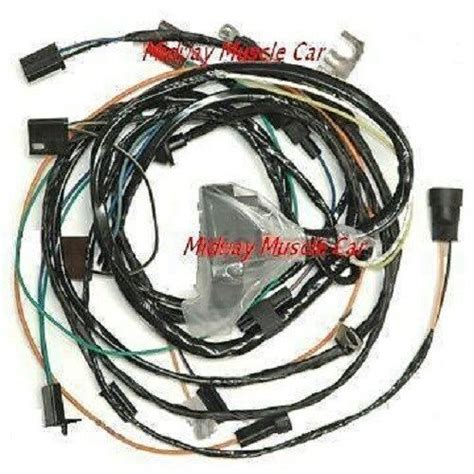 1969 Chevelle Wiring Harnes by Engine Wiring Harness 69 Chevy Chevelle Malibu Ss 396 427