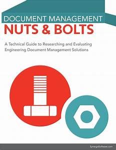 Engineering document management nuts and bolts ebook a for Free engineering document management software