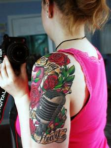 30 Cool Sleeve Tattoos For Girls | CreativeFan