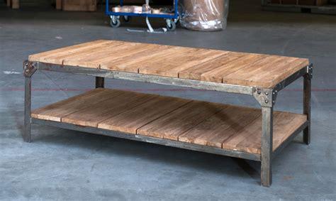 cuisine bois et fer table de salon fer et bois table basse table pliante et