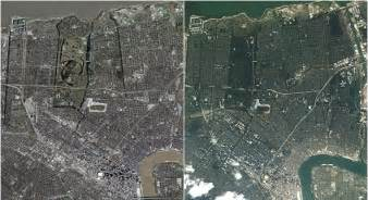 New Orleans before and...