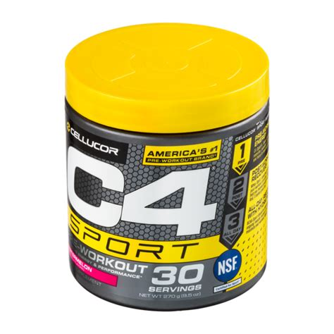 cellucor  sport pre workout  servings super health