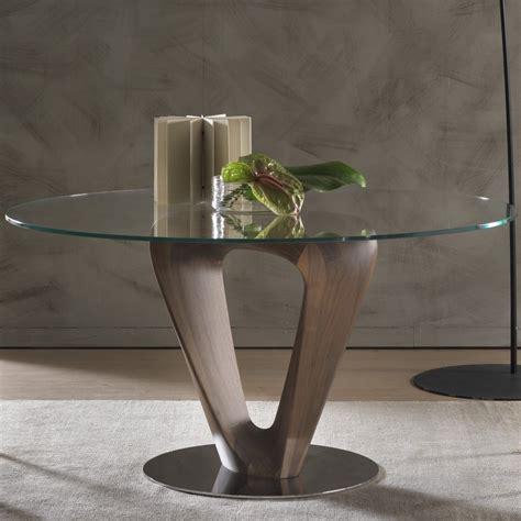tavoli in vetro per salotto tavoli di vetro da salotto tavolo rotondo allungabile