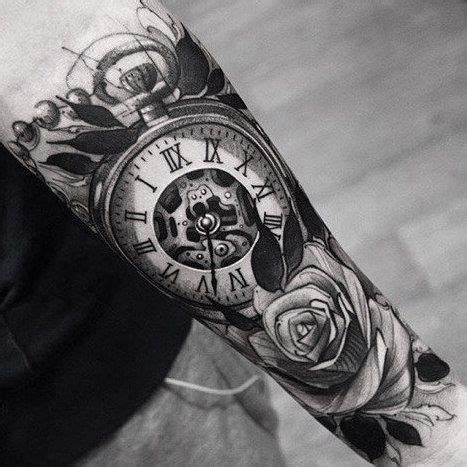 pin de lara osuna en tattoos tatuajes de relojes