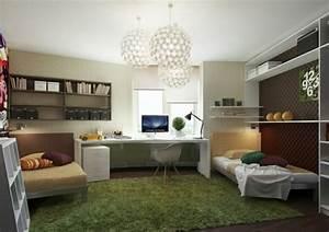Schreibtisch Position Im Raum : farbgestaltung f rs jugendzimmer 100 deko und einrichtungsideen ~ Bigdaddyawards.com Haus und Dekorationen