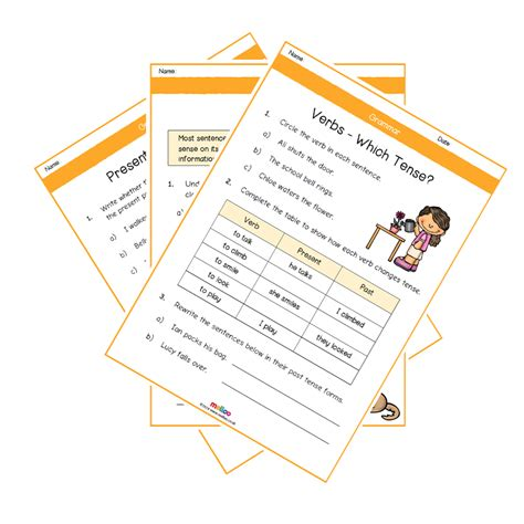 grammar year 3 worksheets english ks1 melloo