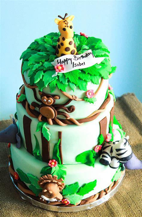 Ria's Collection Safari Themed Birthday Cake