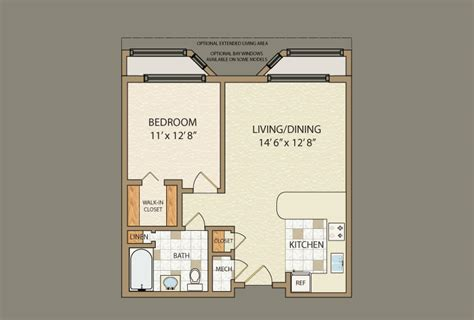 small 1 bedroom cabin floor plans studio design