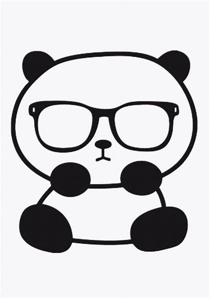 Panda Pandas Coloring Pages Doodles Draw Bears