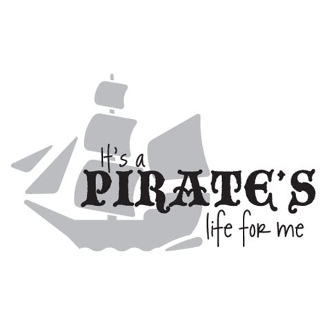 pirates life ship wall quotes decal wallquotescom