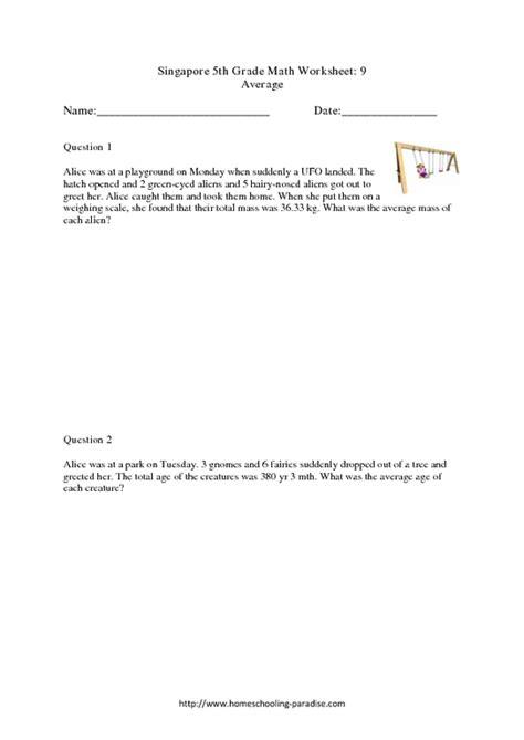 math average word problems worksheets