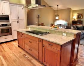 split level kitchen designs big pot and pan drawers pullout spice traditional kitchen