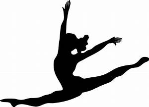 Gymnastics Clipart Silhouette   Clipart Panda - Free ...