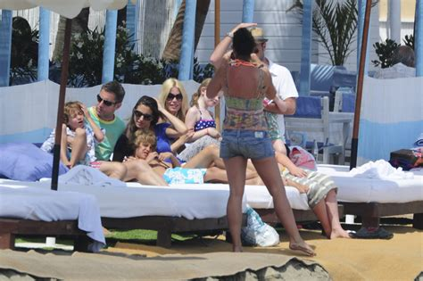 claudia schiffer and family claudia schiffer and family relax in costa del sol 20 of