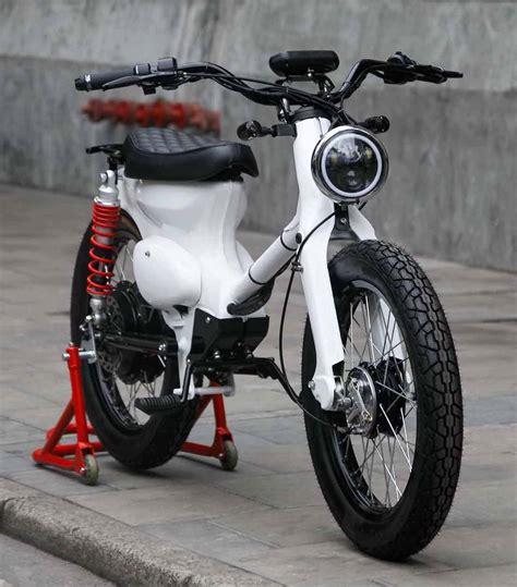 Honda Cub by Honda Ecub A Honda Cub Electric Conversion Kit By