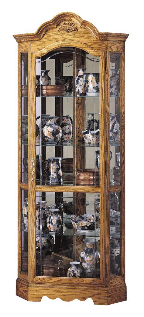 Wilshire 680 207 Howard Miller Corner Curio Cabinet