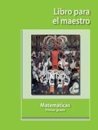 foto de Matemáticas Libro para el maestro primer grado 2019 2020