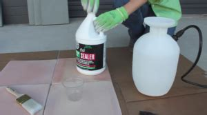 how to glaze n seal products