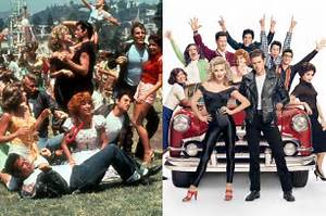 See Side-by-Side Snaps of the 'Grease: Live!' Cast and the ...