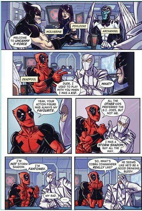 Fantomex Deadpool Storm Shadow