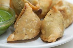 healthy recipe for mushroom samosa vegetable Indian The