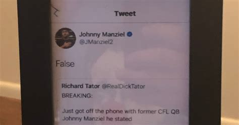 Johnny Manziel Calls Out Fake Espn Reporter Real Dick Tator