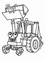 Coloring Coal Pages Mine Excavator Template sketch template